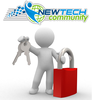 security and hacking prevention by New Tech Community / Ribbon Cutting for Caffeine Spaces :-)