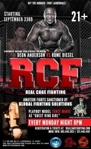 Real Cage Fighting - MMA - Monday Fight Night