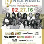 9 Mile music Festival is today! at Virginia Key