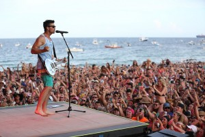 Tortuga Music Festival live musuc on the beach