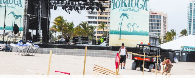 Tortuga starts Today!  Fort Lauderdale Beach is going to be Live with Music!