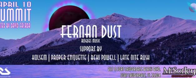 Summit at McSorley's with David Facada, Fenan Dust, Late Nite Rush…
